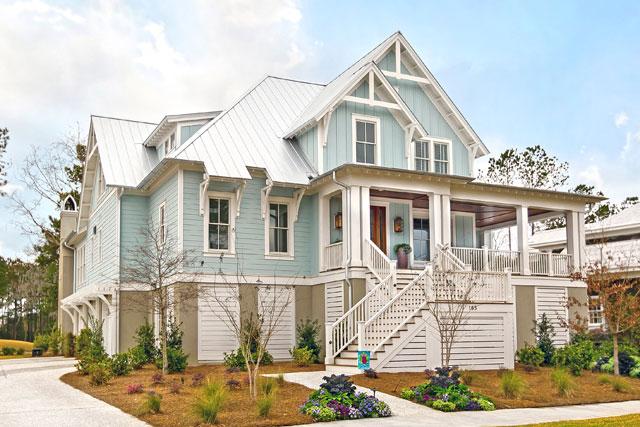 New Custom Built Homes by Lowcountry Premier Custom Homes at 165 Brailsford in Charleston, SC