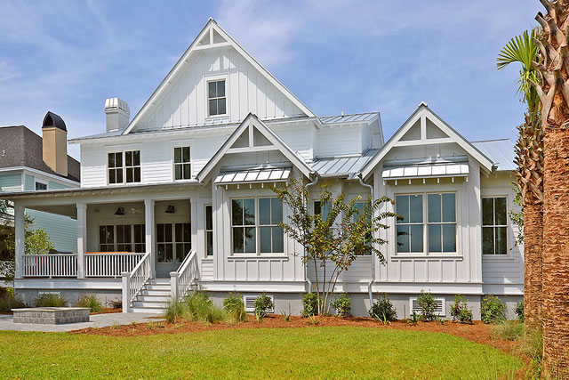 New Custom Built Homes by Lowcountry Premier Custom Homes at 176 Ithecaw Creek in Charleston, SC